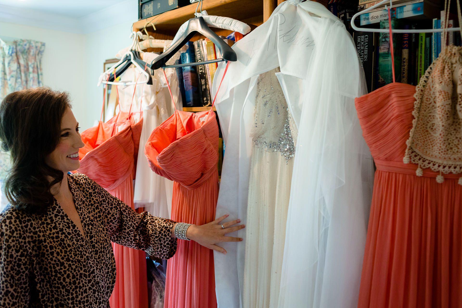 many wedding dresses