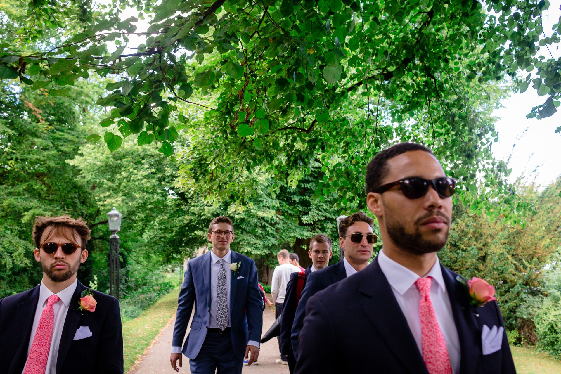 guests the wedding in london