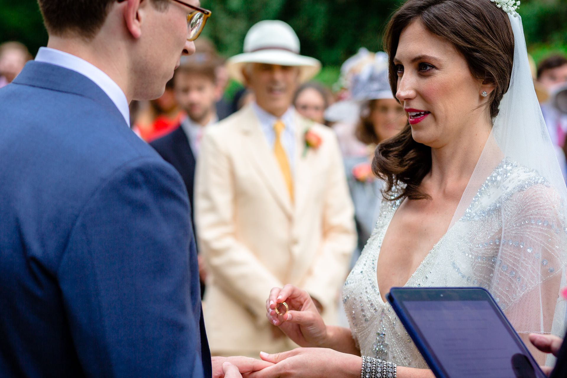 julia and rob wedding ceremony london