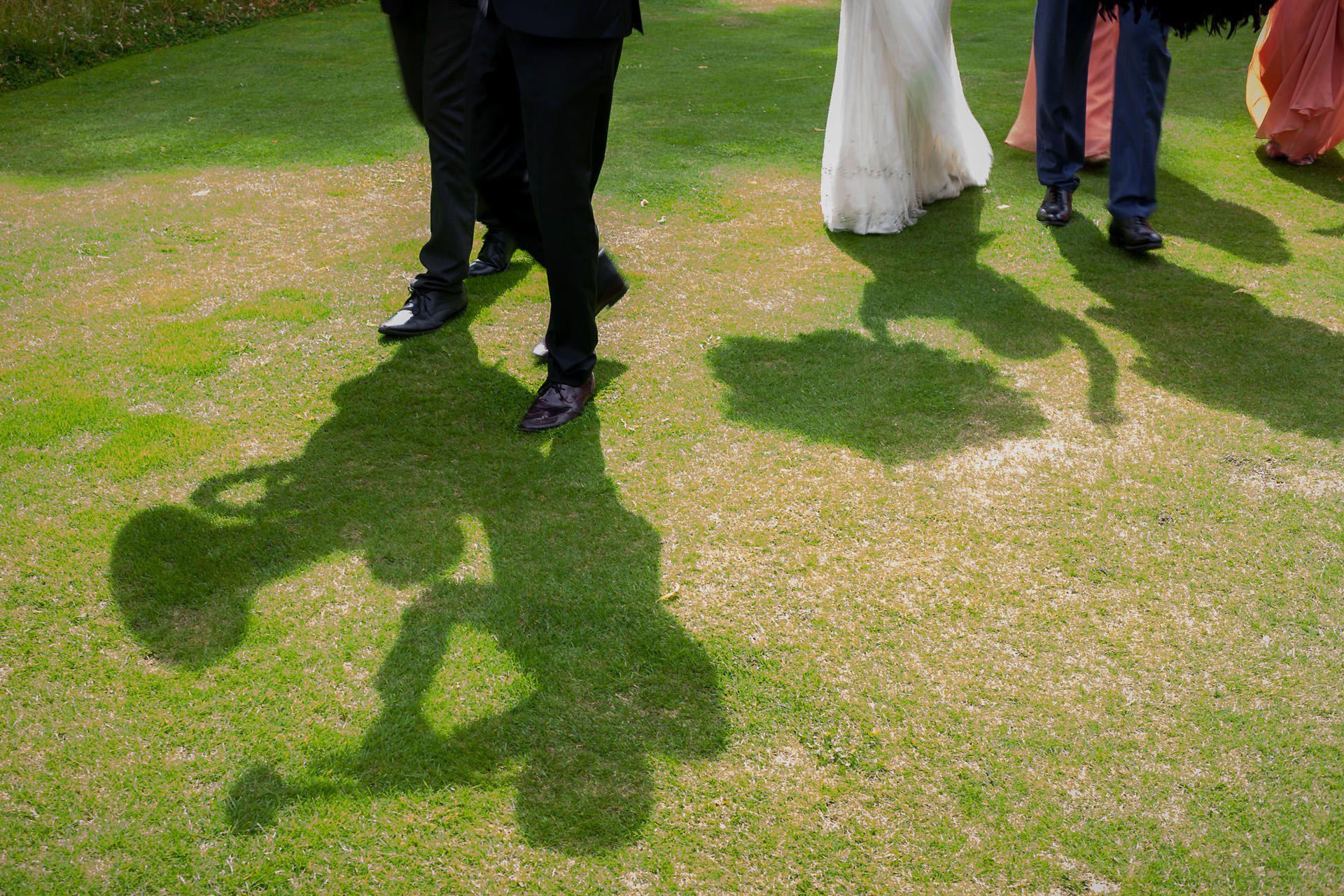 wedding in the garden in london