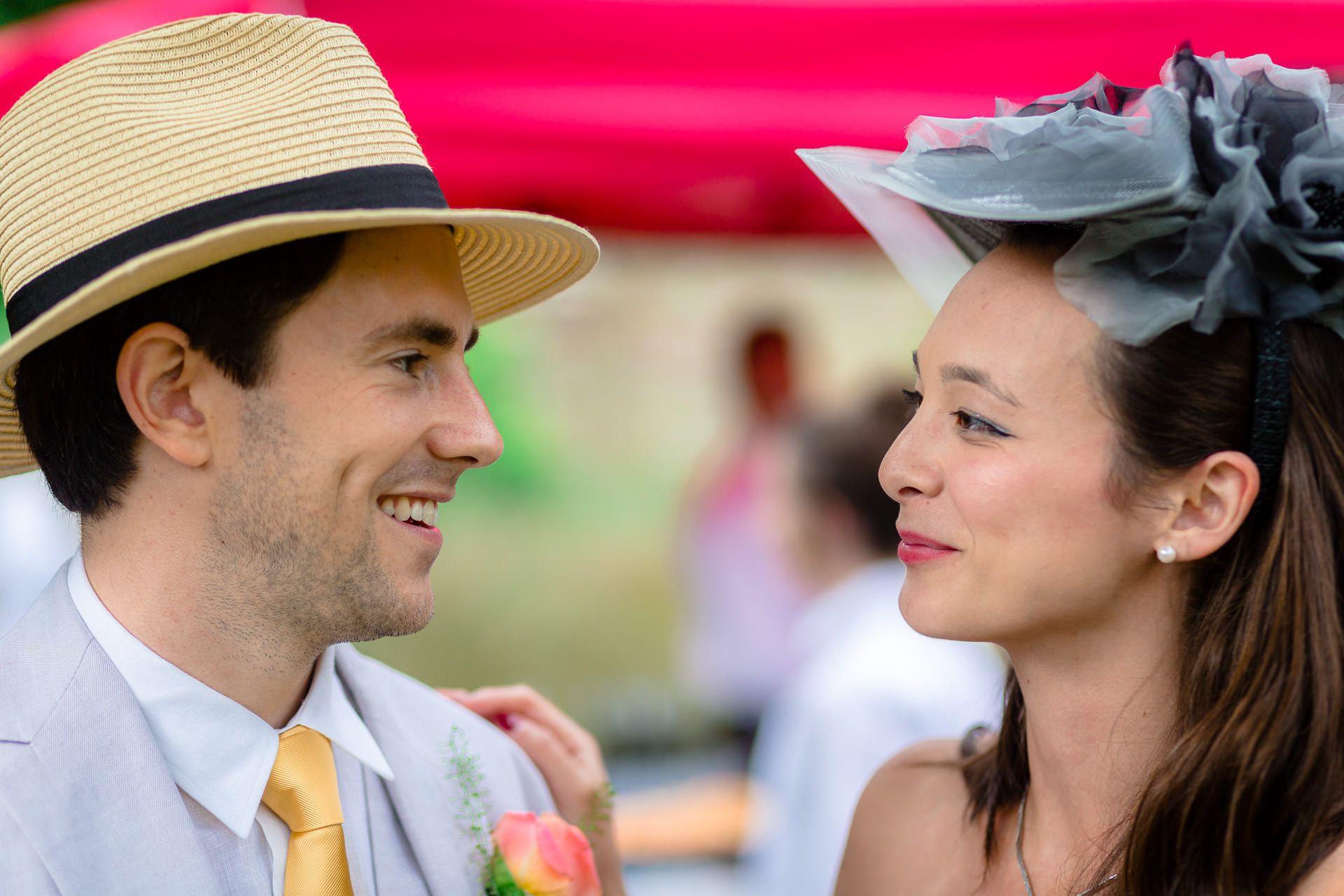couple on the wedding london