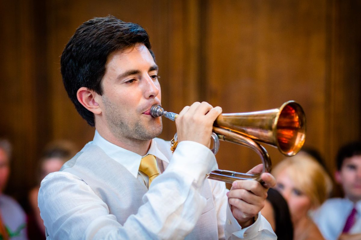 musician on the london wedding