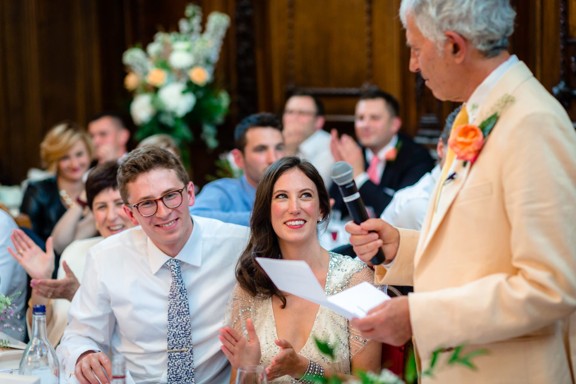 wedding of julia and rob in london