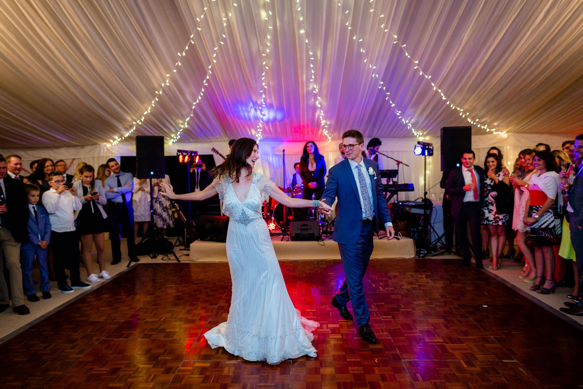 julia and rob the first wedding dance
