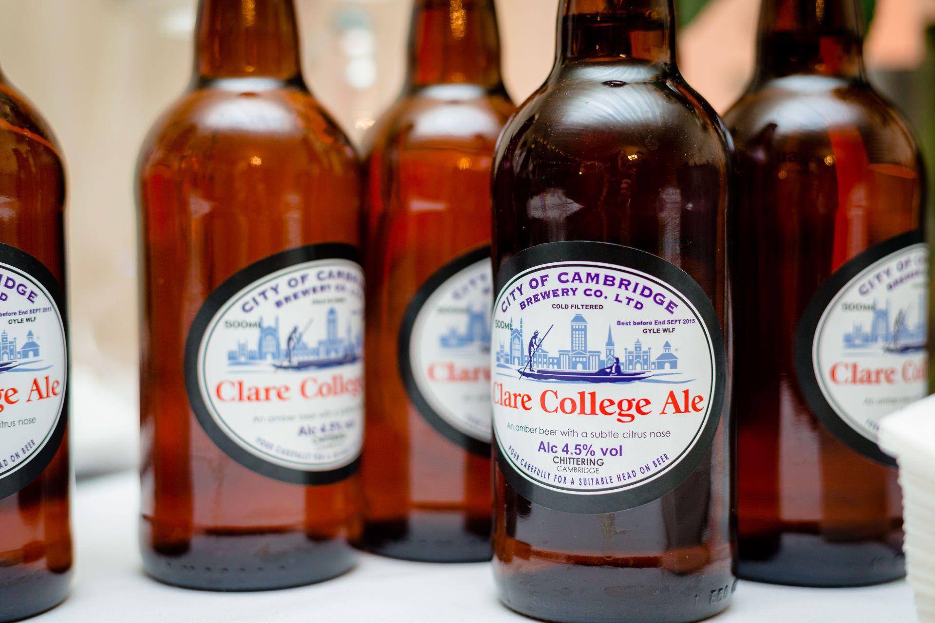 clare college ale