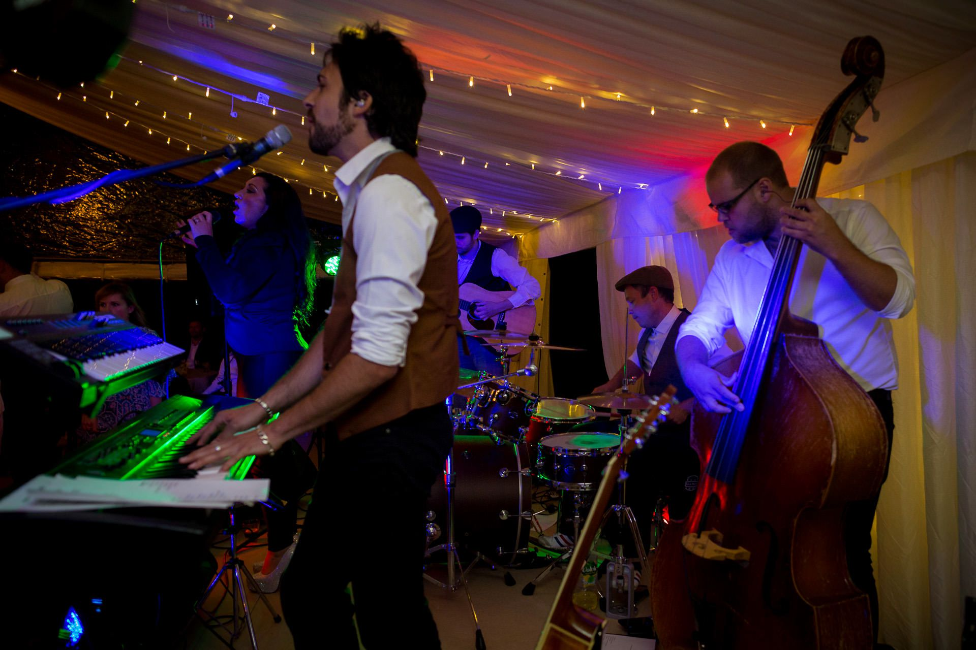 wedding musicians playing live