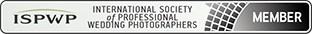 London wedding photographer international society of professional wedding photographers badge