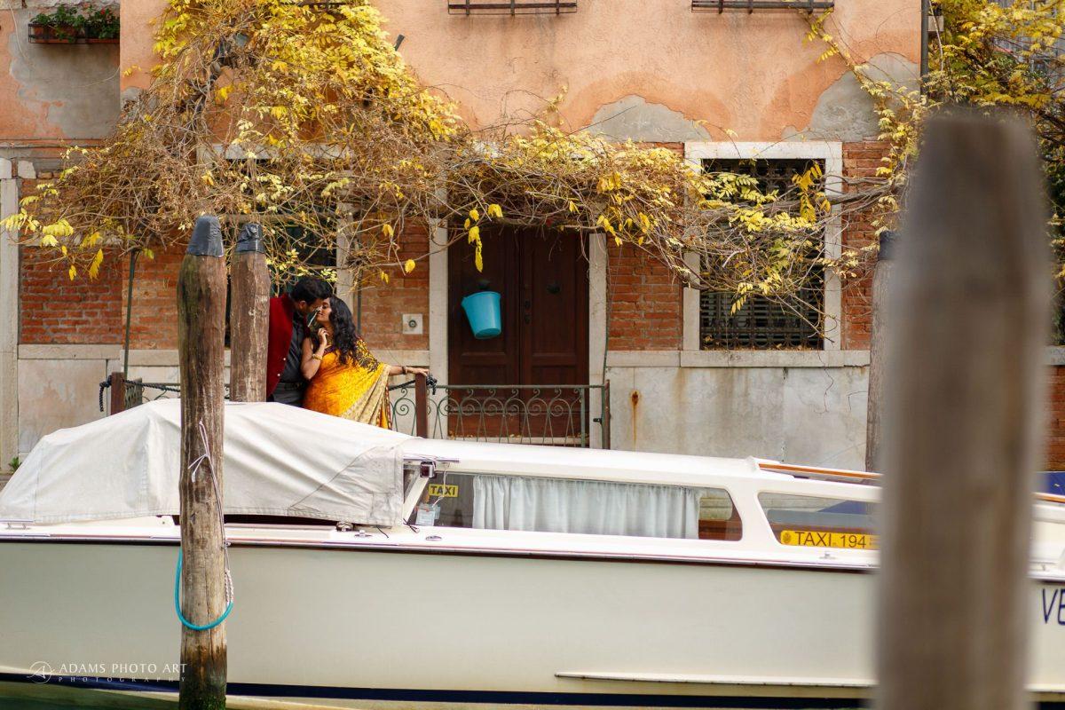Destination Pre Wedding Photography Venice | Twa + Len 37
