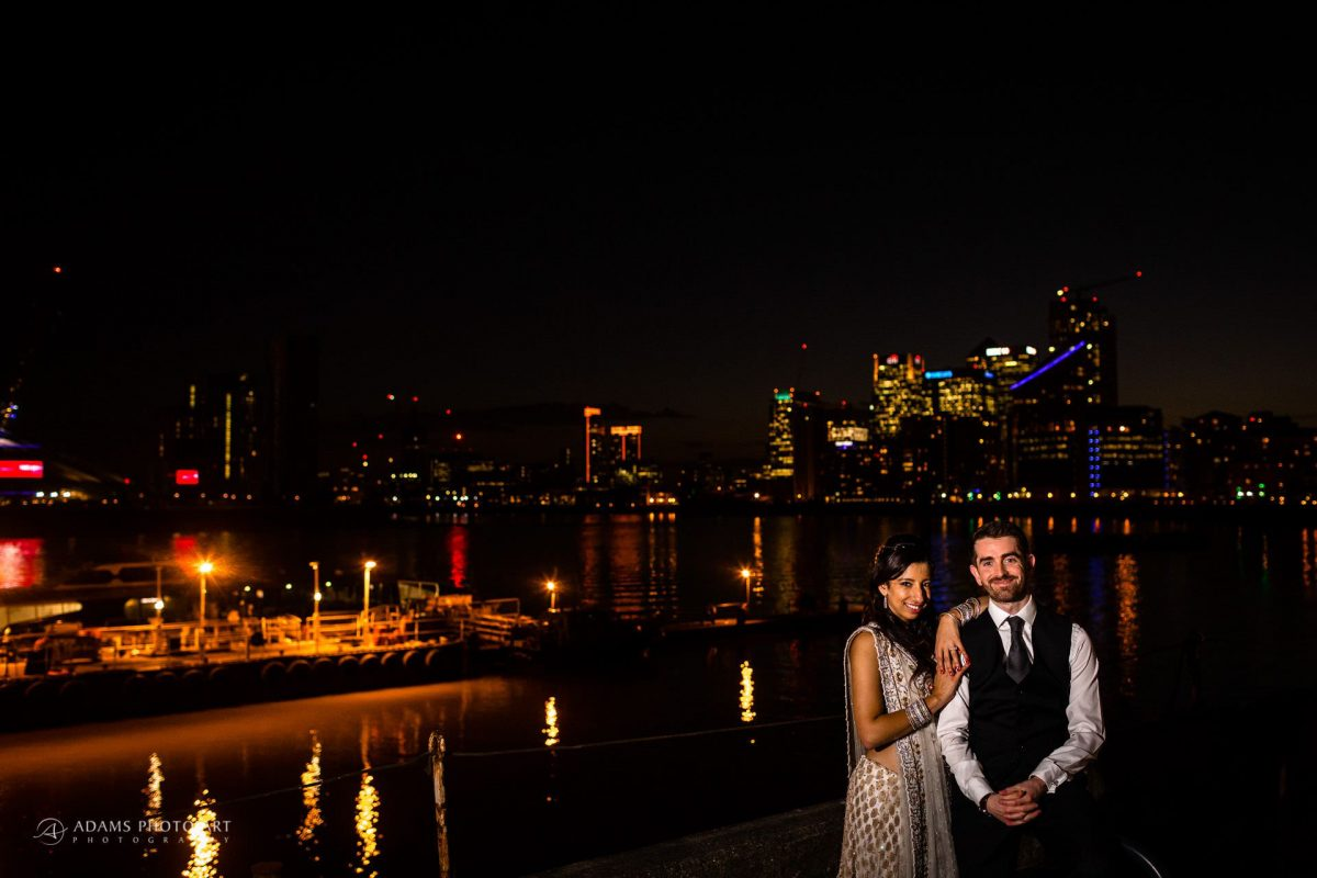 anoushka and tim wedding photo