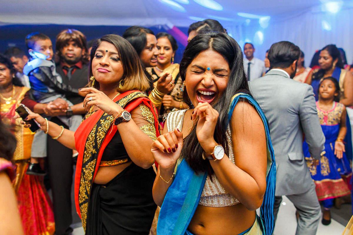 hindu wedding dance floor
