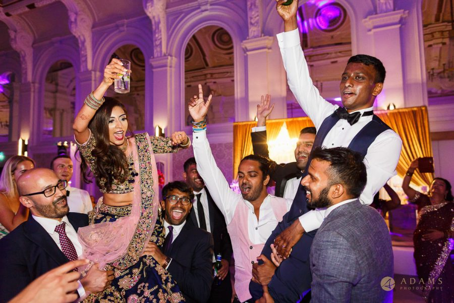 Asian Wedding Photographer in London dance party