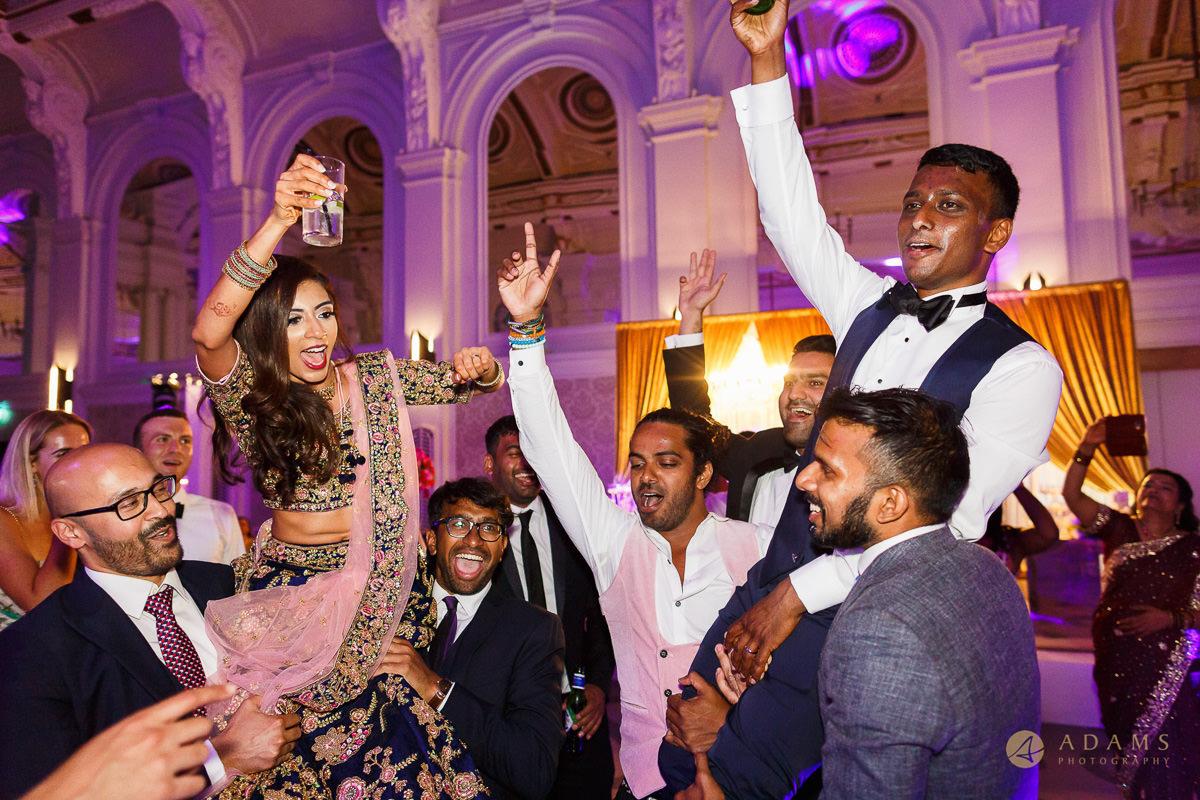 Asian Wedding Photographer in London dance party