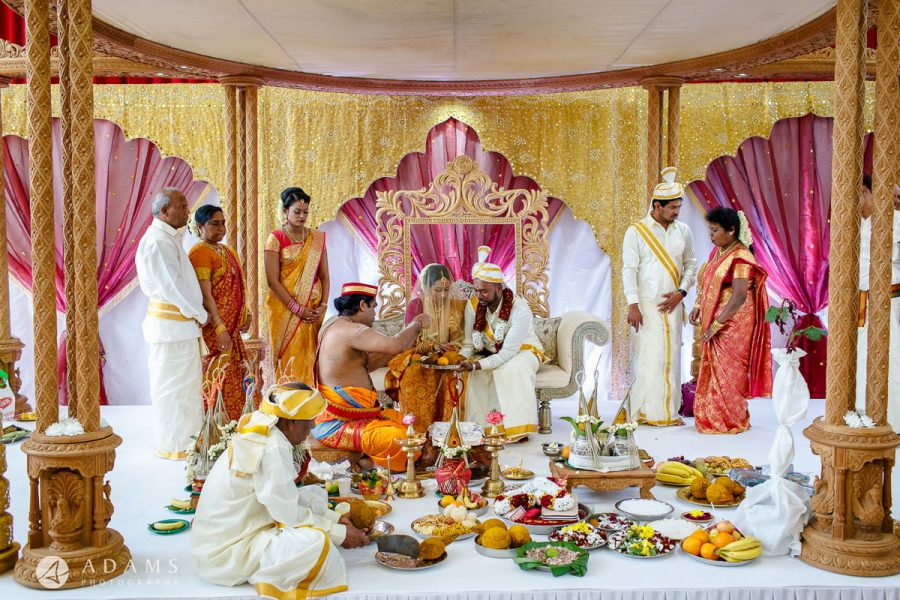 Asian Wedding Photographer London hindu ceremony