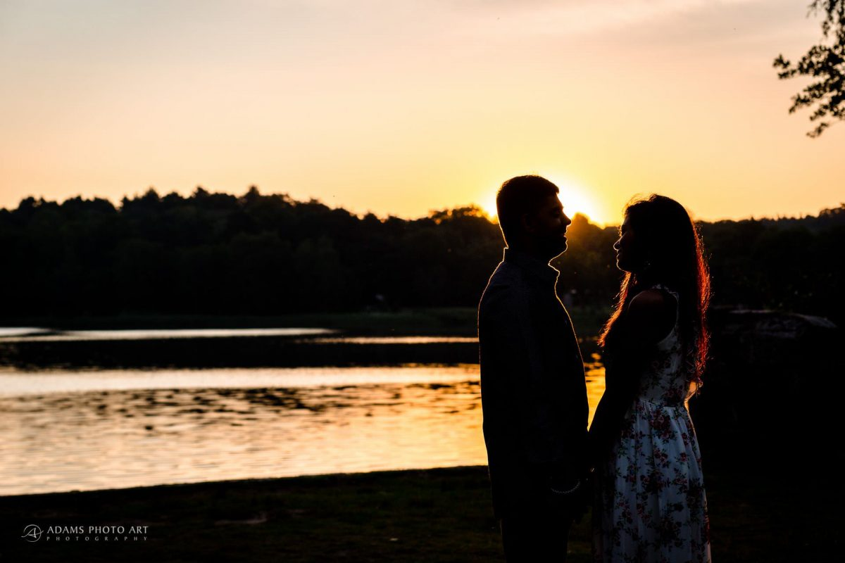 Pre Wedding Photography at Virginia Water | Sara + Anojan 3
