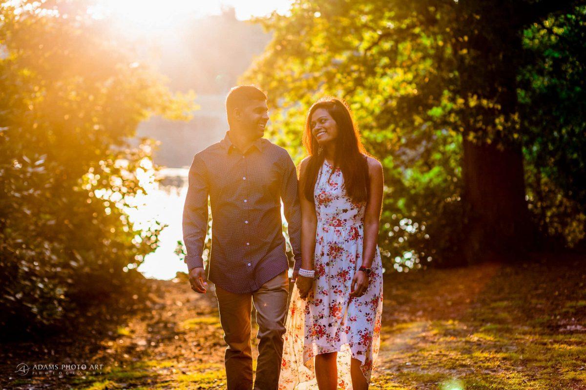 Pre Wedding Photography at Virginia Water | Sara + Anojan 5