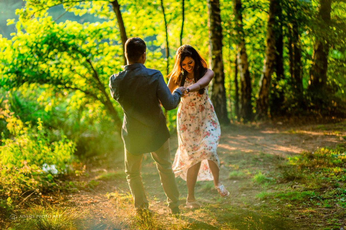 Pre Wedding Photography at Virginia Water | Sara + Anojan 7