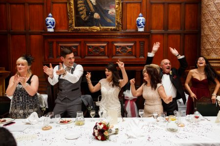 Greek Wedding top table dancing