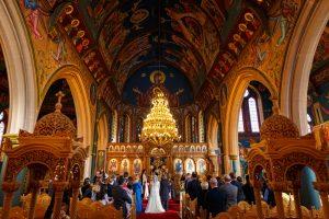 Greek Wedding church ceremony
