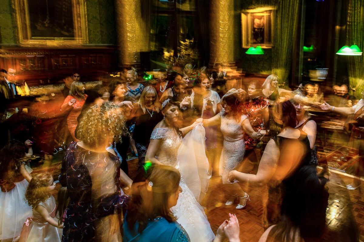 Greek Wedding dancing party