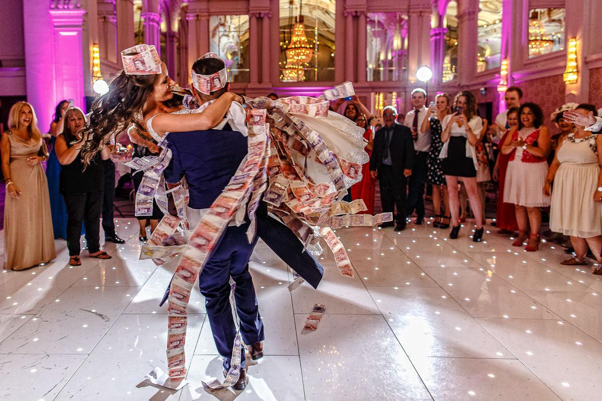 Money Dance Wedding.Greek Wedding Photographer Greek Wedding Photography London