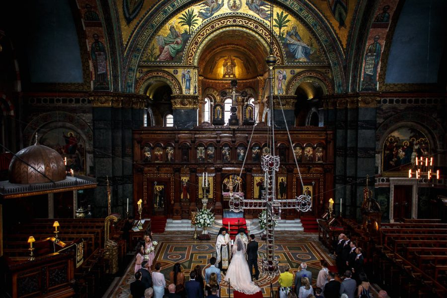 Greek Wedding at St Sophia in London