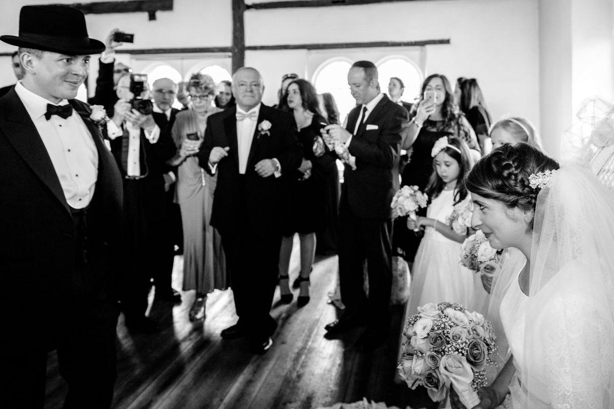 black and white jewish wedding photography