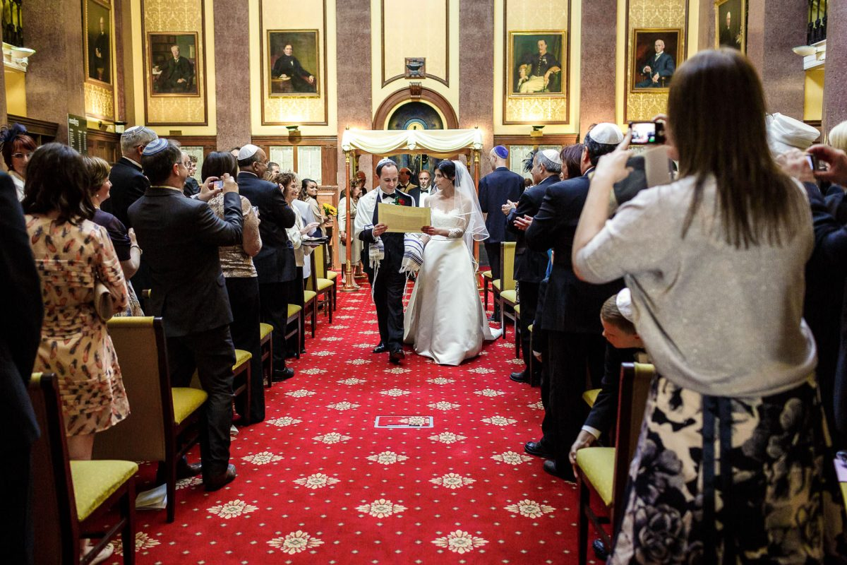 traditional jewish wedding in london