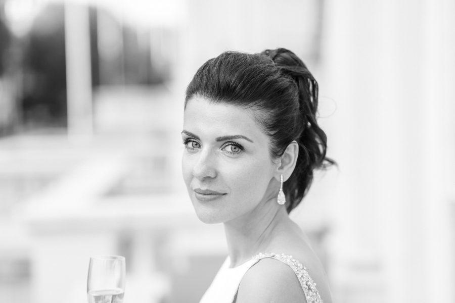 Polski Fotograf portret panny mlodej
