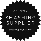 approved smashing supplier - jewish wedding blog badge