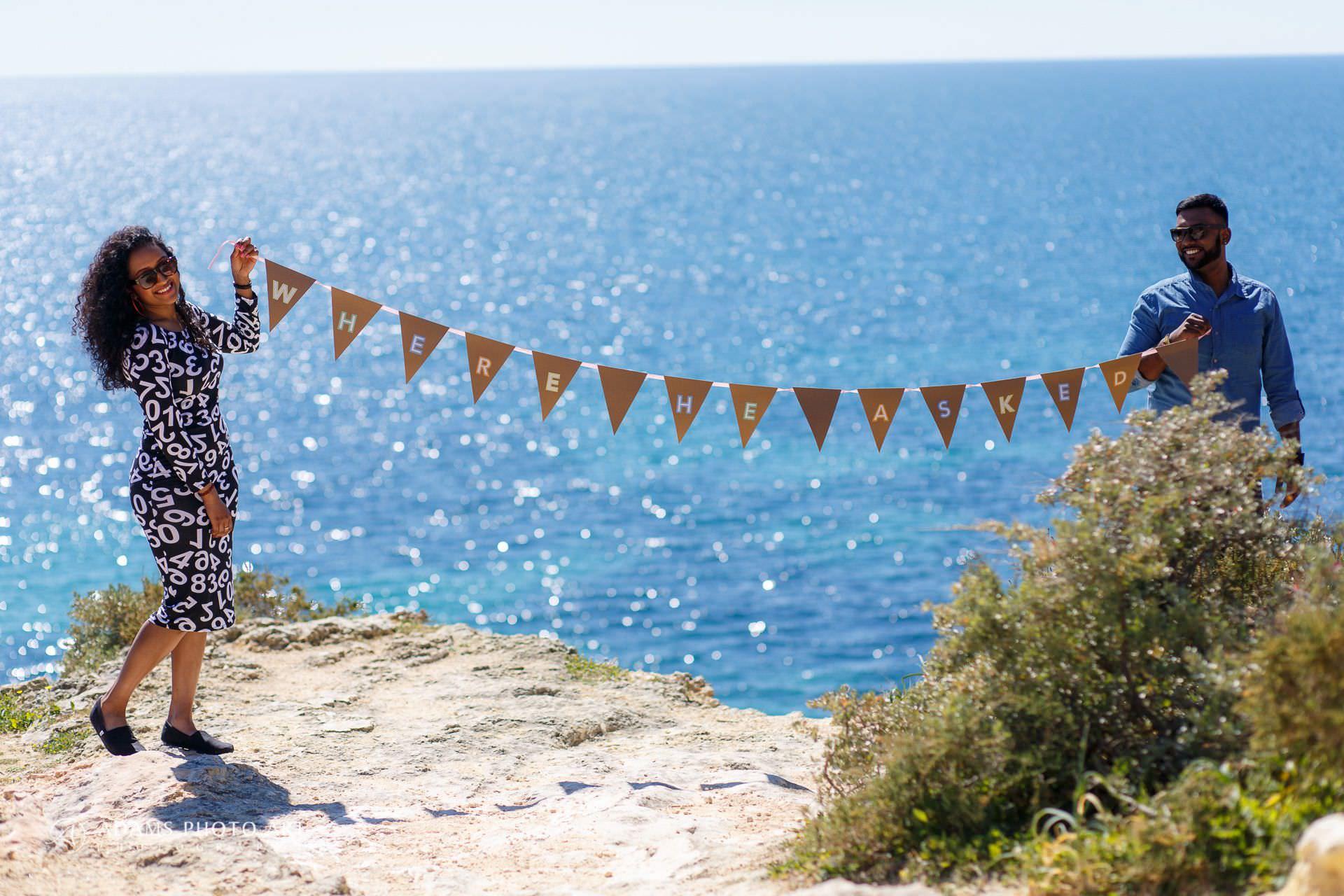 Pre Wedding Photography Algarve Portugal | Saranya + Gobi 3