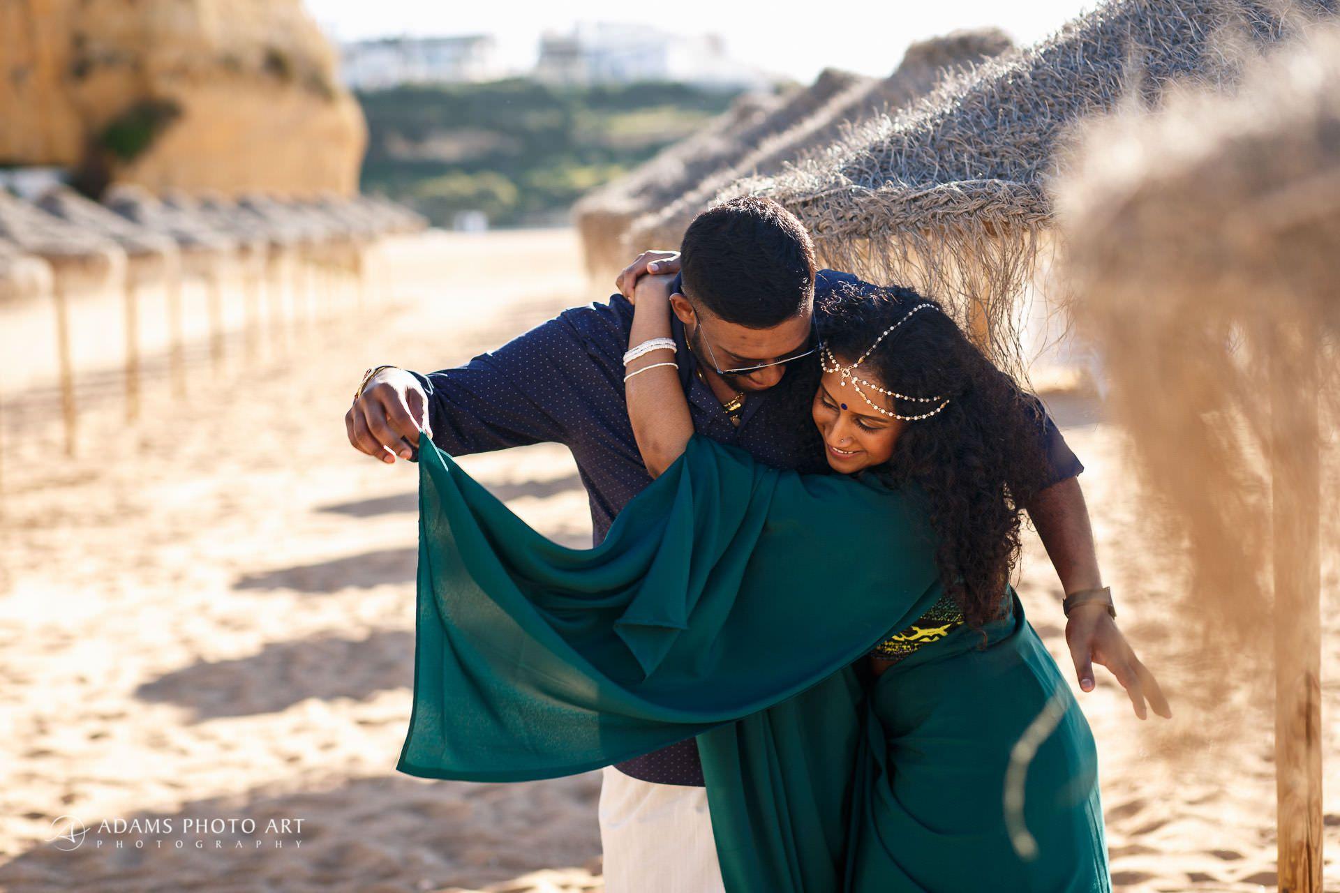 Pre Wedding Photography Algarve Portugal | Saranya + Gobi 14