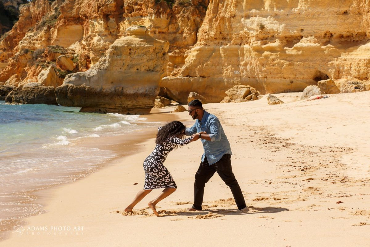 Pre Wedding Photography Algarve Portugal | Saranya + Gobi 20