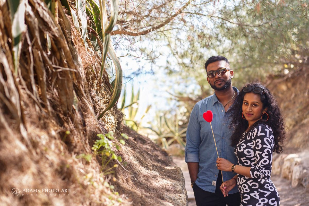 Pre Wedding Photography Algarve Portugal | Saranya + Gobi 21