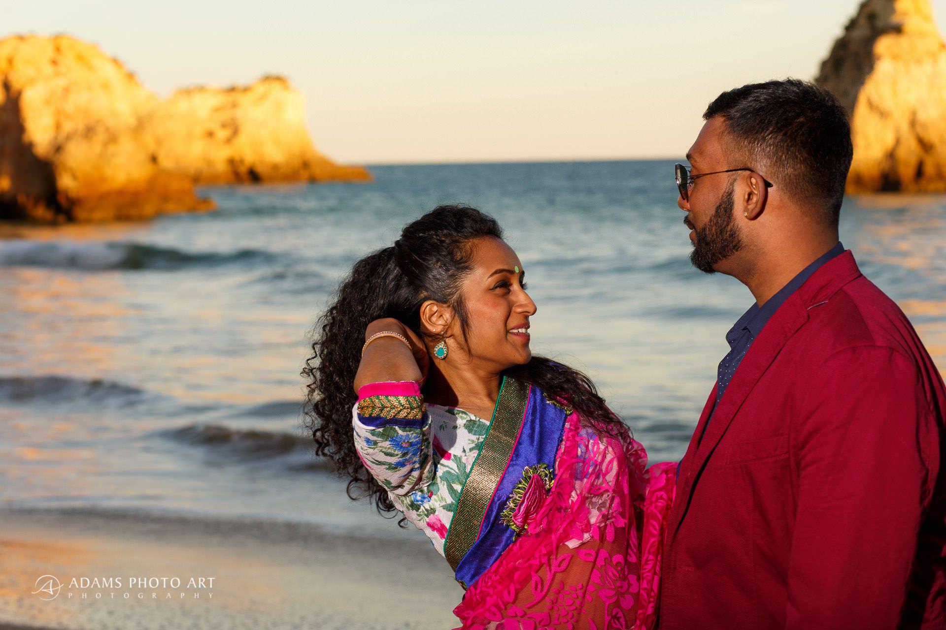 Pre Wedding Photography Algarve Portugal | Saranya + Gobi 24