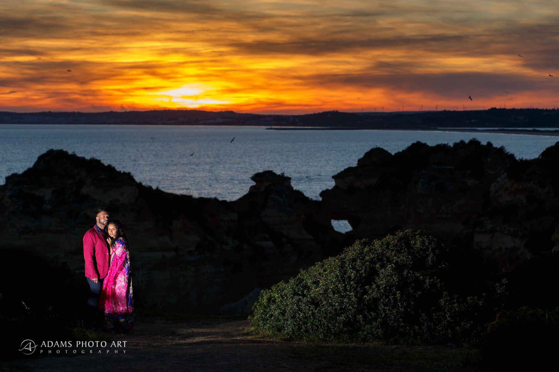 Pre Wedding Photography Algarve Portugal | Saranya + Gobi 27