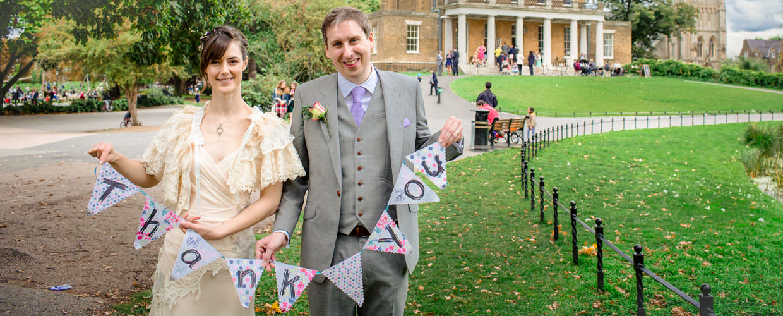 Wedding Photography Testimonials- Couple saying Thank you