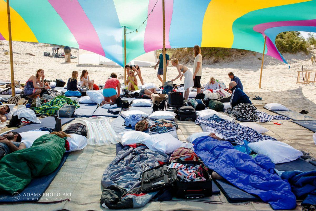 wedding of josefin and asaf on Israeli beach