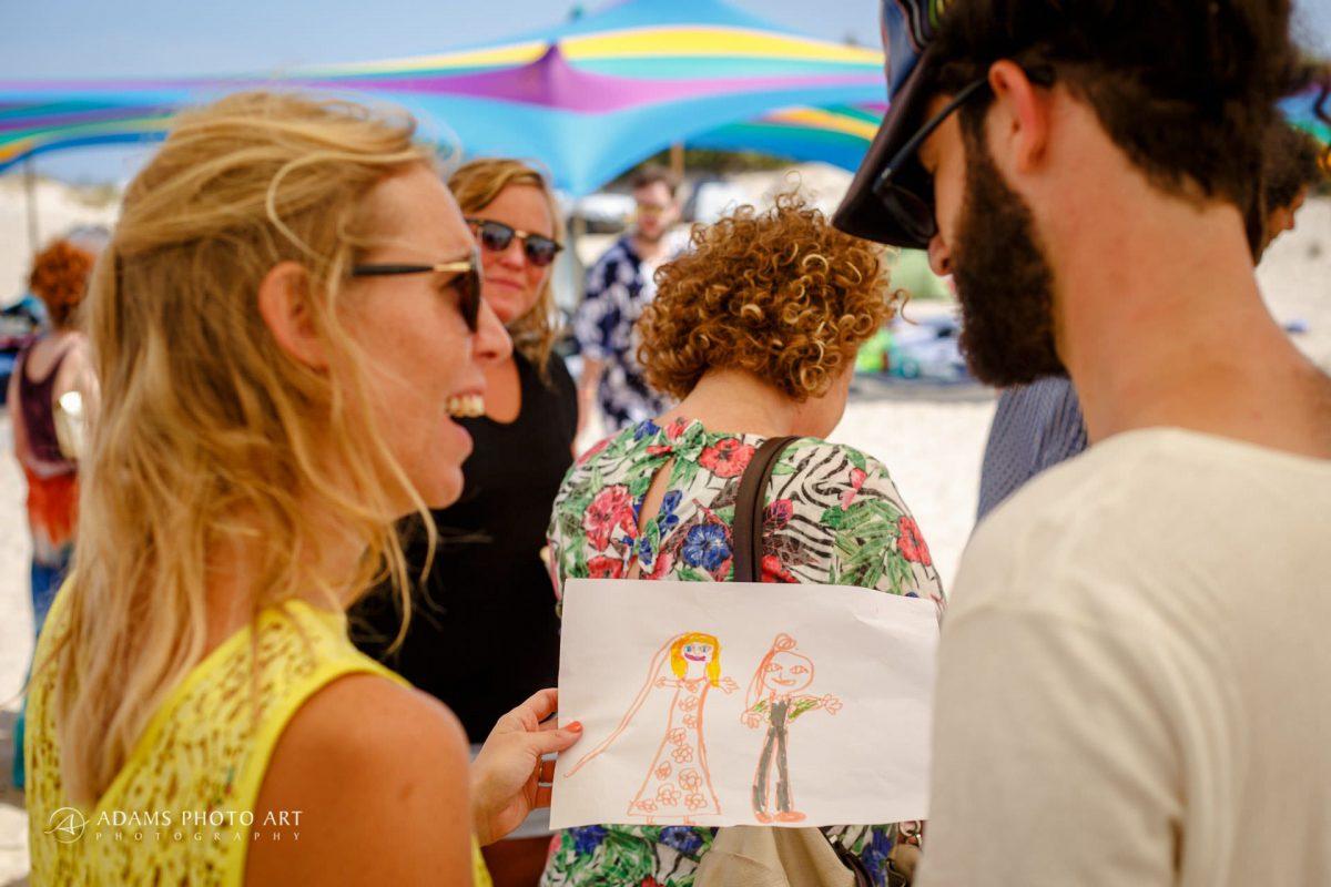 Israeli beach and the destination wedding