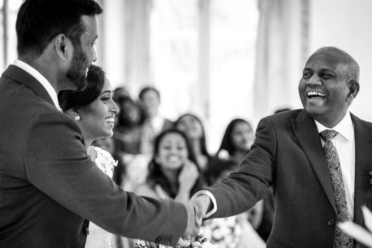 wedding guests from portfolio of london photographer for wedding