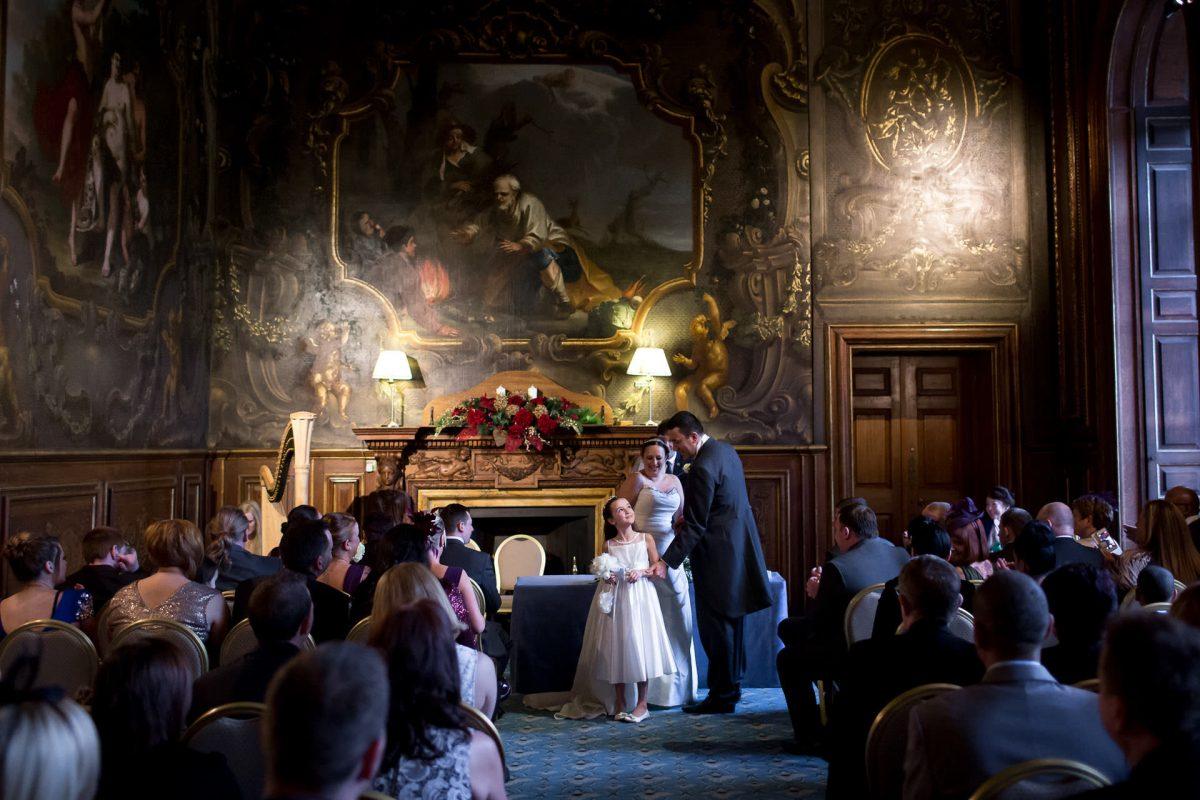 london wedding ceremony from portfolio of photographer for wedding