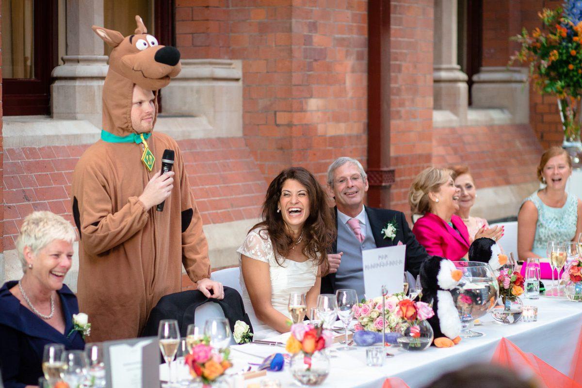dressed up man on the wedding