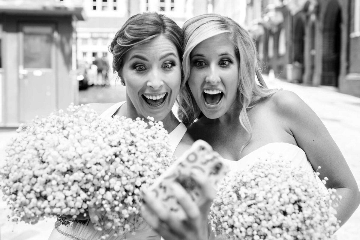 women on the wedding photo of adam