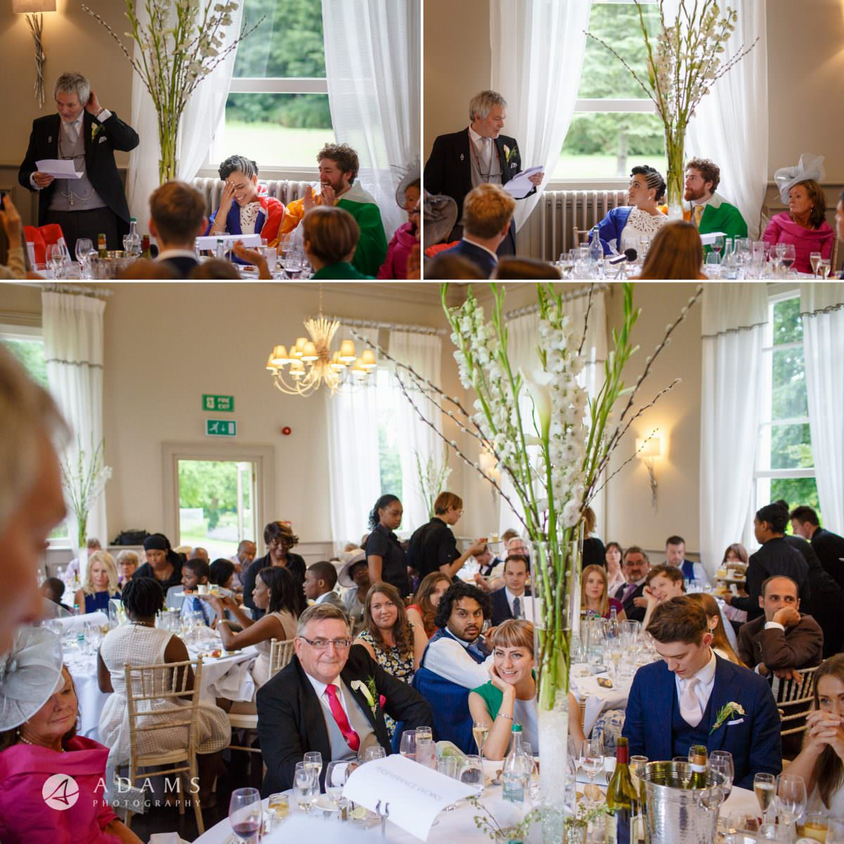 wedding breakfast at Morden Hall