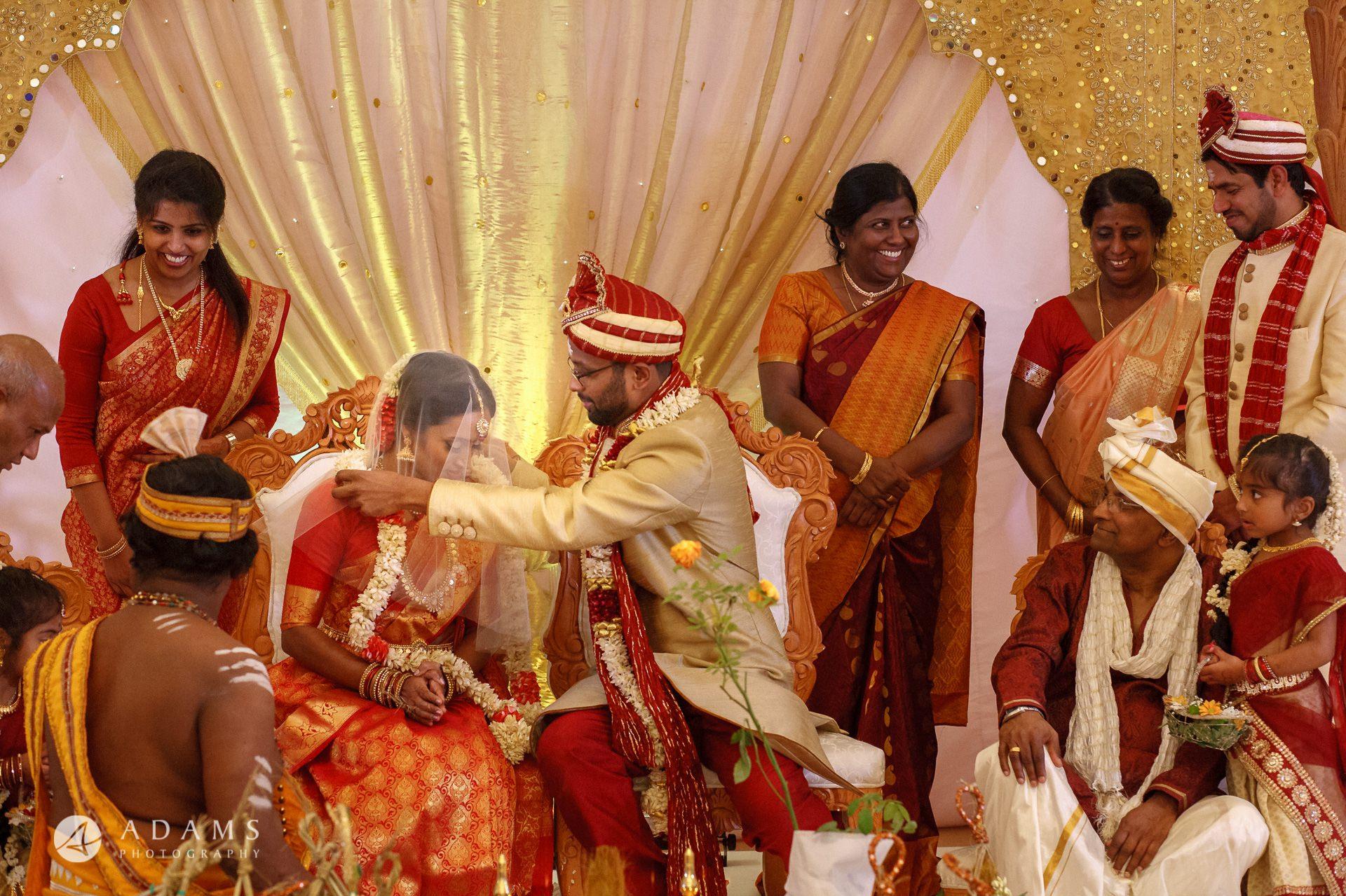 Oshwal Centre Wedding Photos   Twa + Len 26