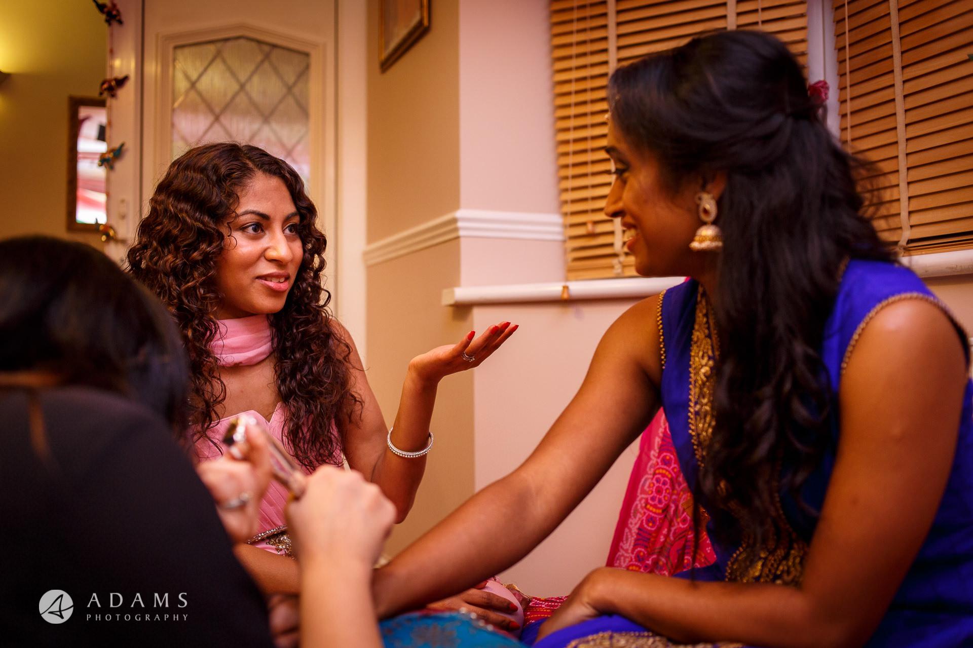 Tamil Mehndi Night | Tamil Gold Melting Ceremony 9