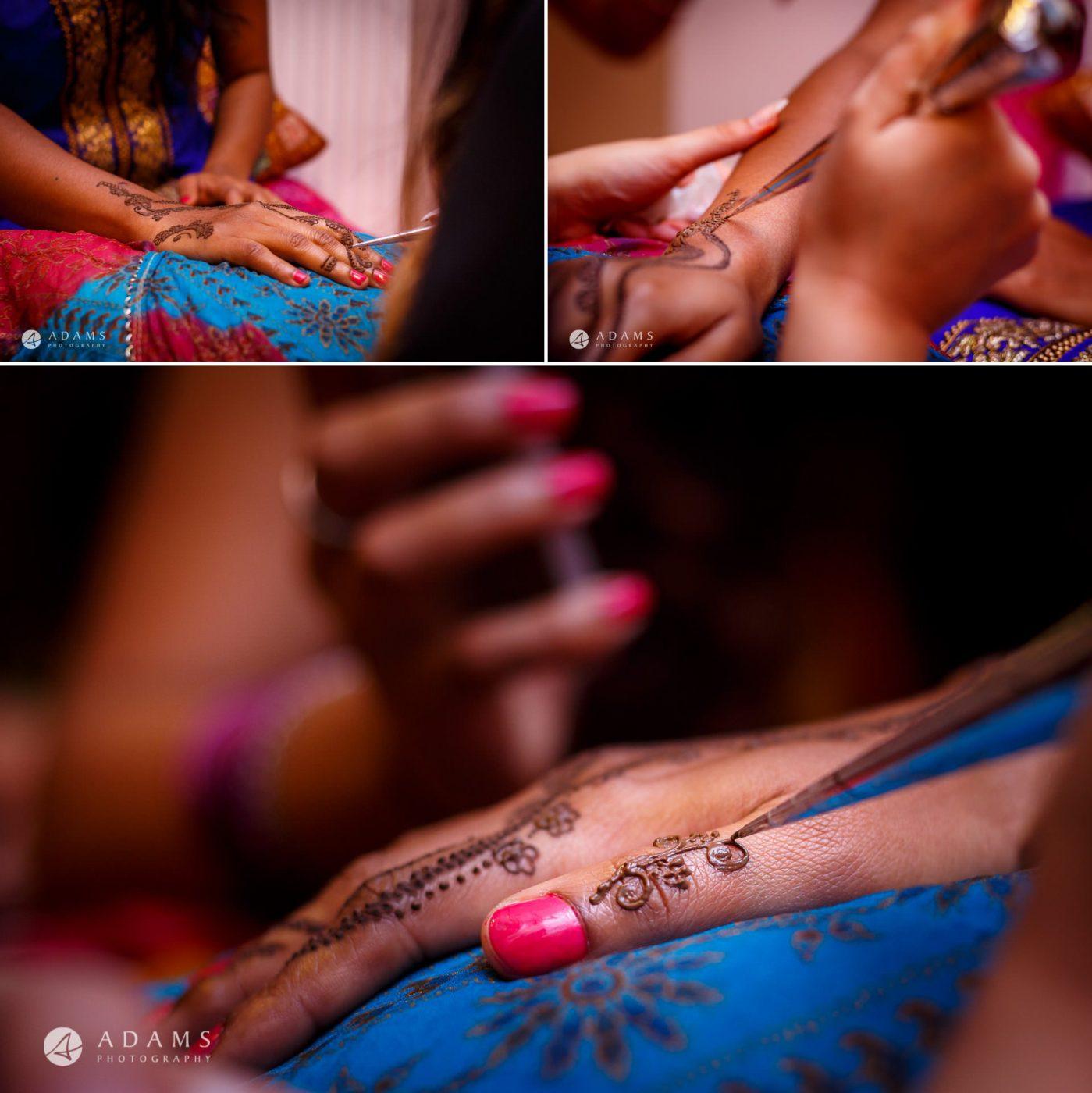 Tamil Mehndi Night | Tamil Gold Melting Ceremony 10