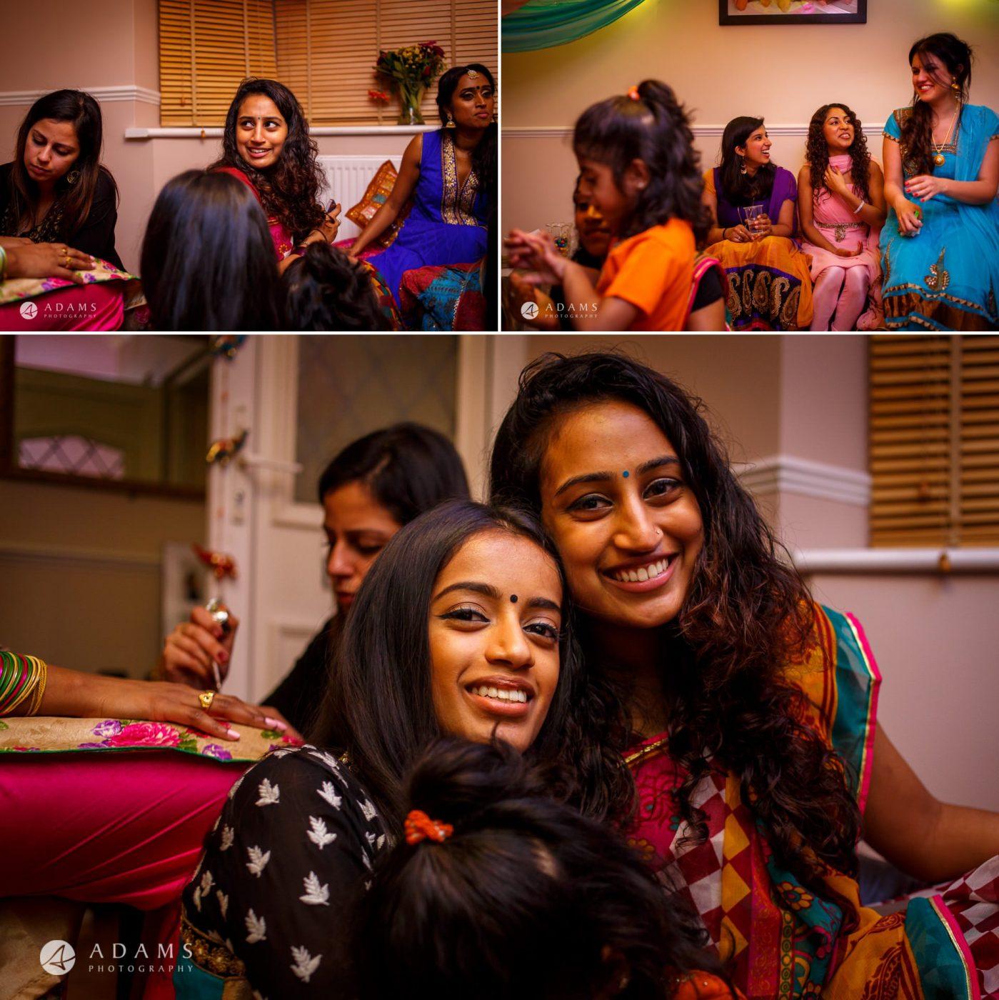 Tamil Mehndi Night | Tamil Gold Melting Ceremony 11