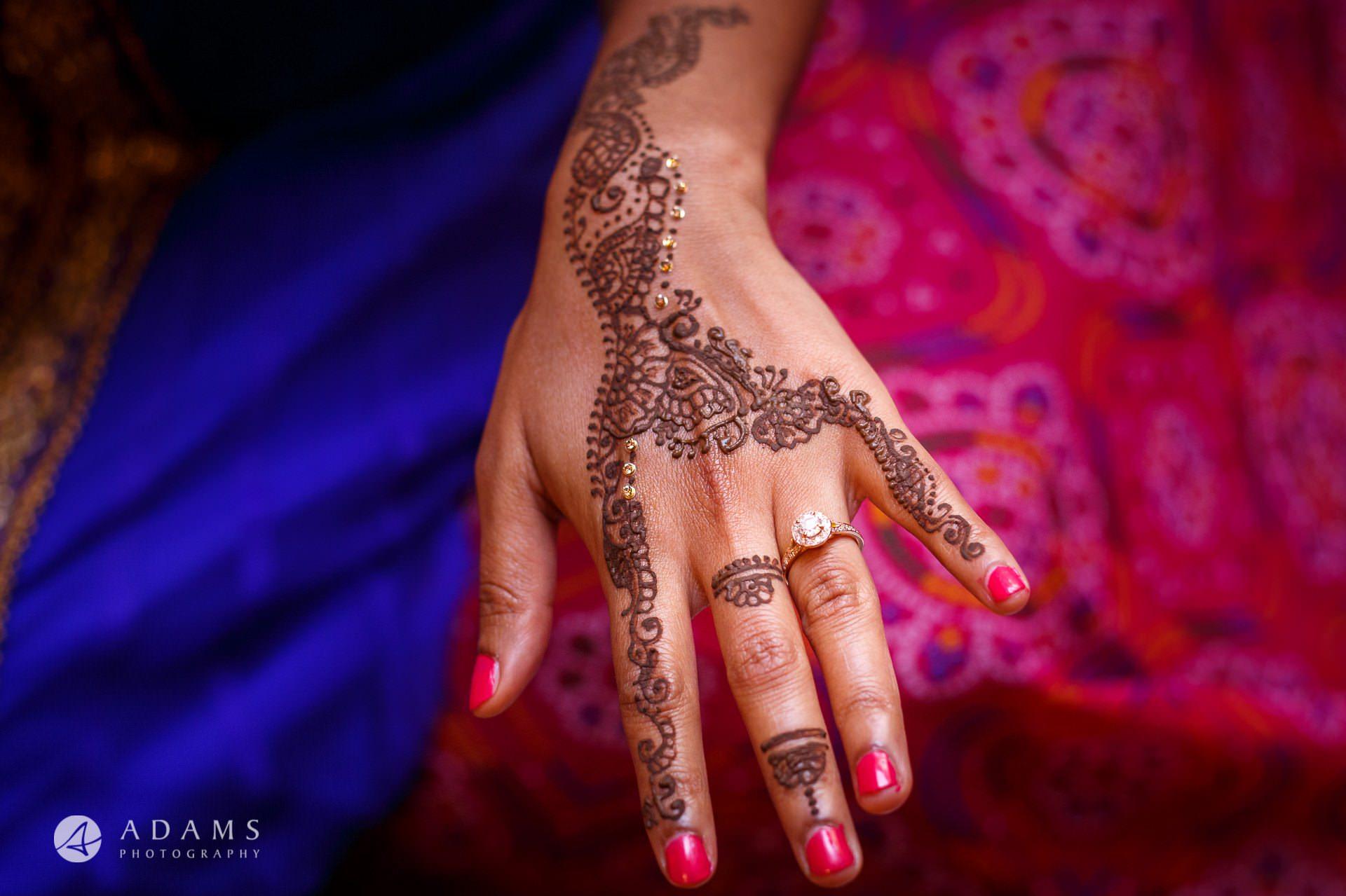 Tamil Mehndi Night | Tamil Gold Melting Ceremony 16