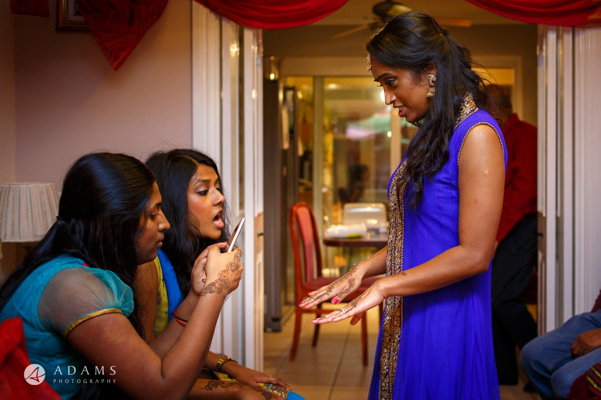 Tamil Mehndi Night | Tamil Gold Melting Ceremony 17