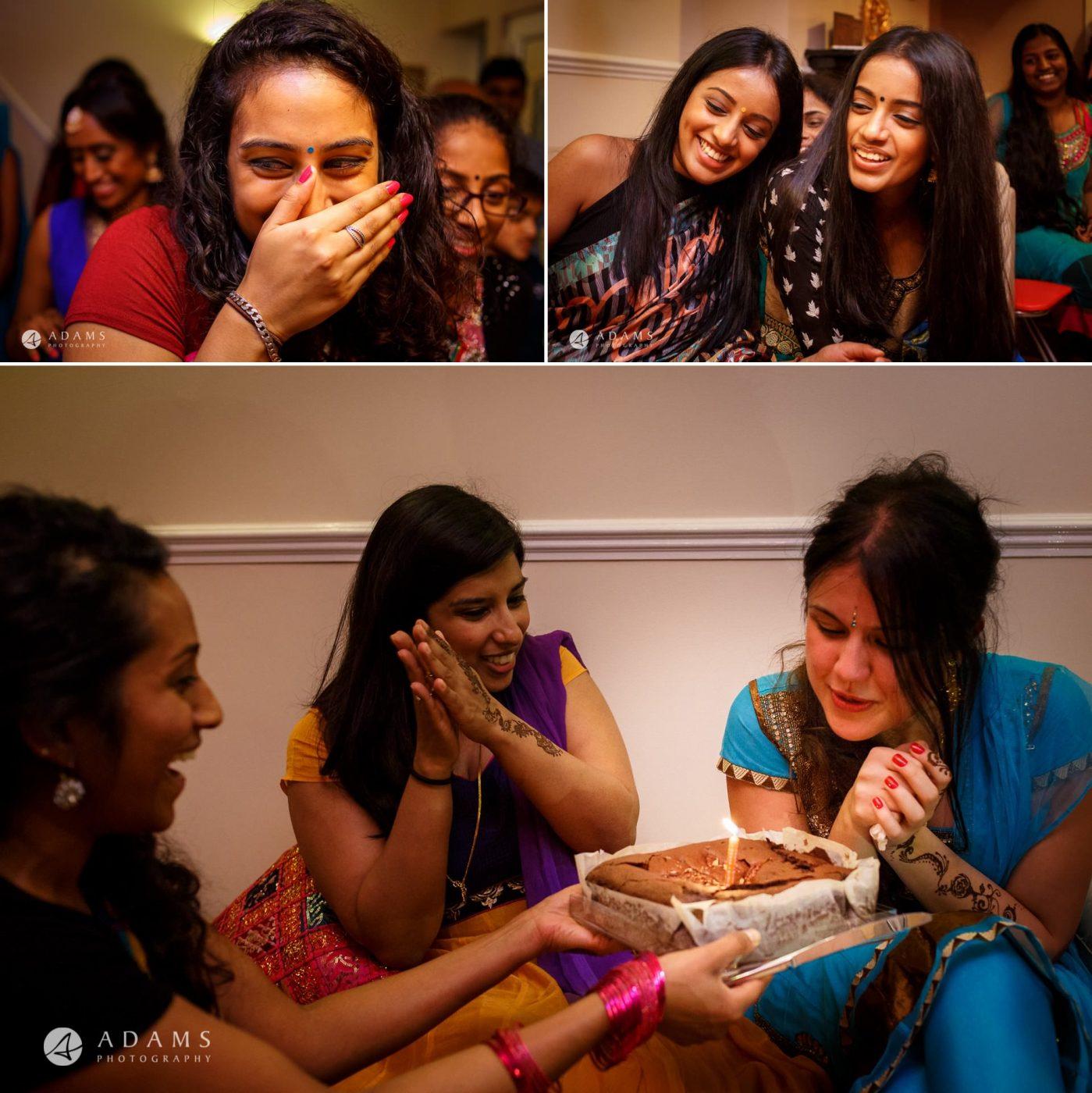 Tamil Mehndi Night | Tamil Gold Melting Ceremony 18